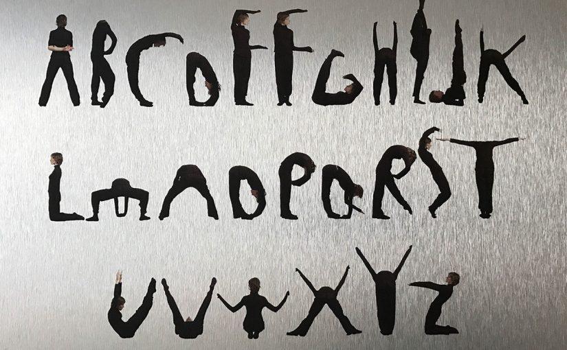 10. Body alphabet