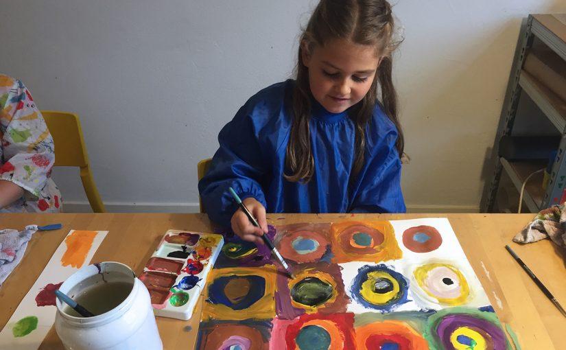 5. Kandinsky's cirkels