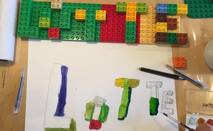 9. 3D letters studie