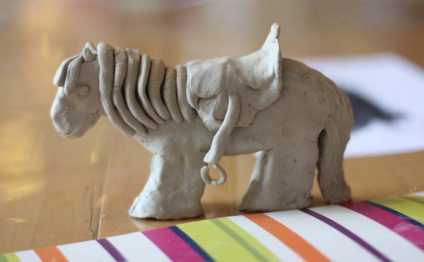Art 8: Clay animals