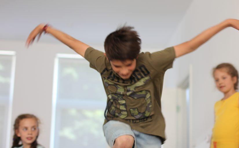 Dans 5: Verschillende aspecten van beweging en ritme