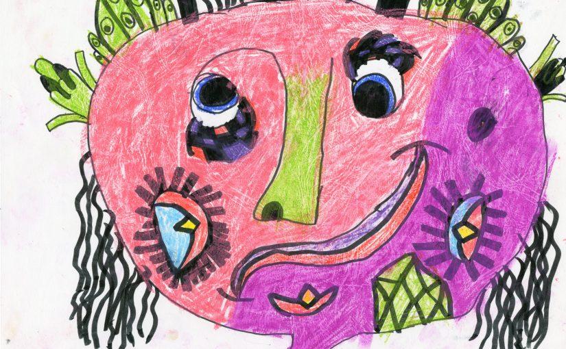 Kunst 5: Klei maskers