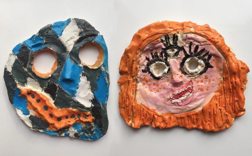 Kunst 7: Maskers & T-shirts