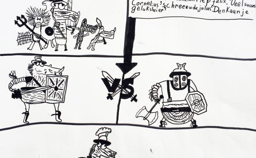 Kunst 9: Boekillustratie