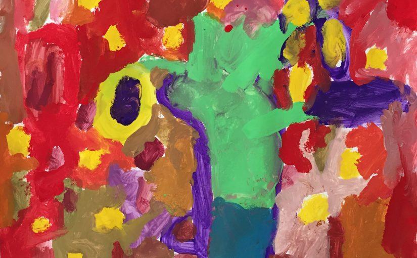 Kunst 3: Expressieve bloemen