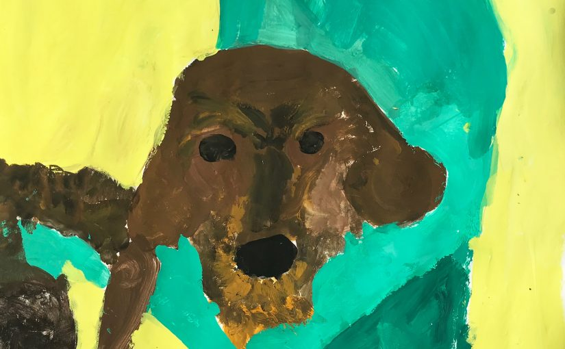 Art 5: Dog Love