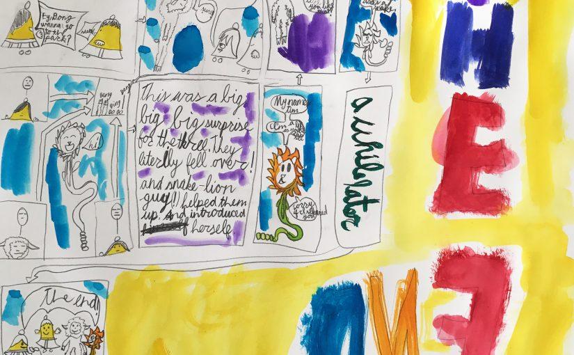 Kunst 8: Stripverhaal