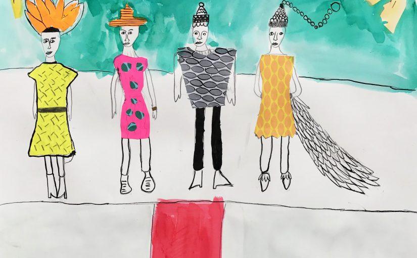 Kunst 1: Mijn eigen mode collectie